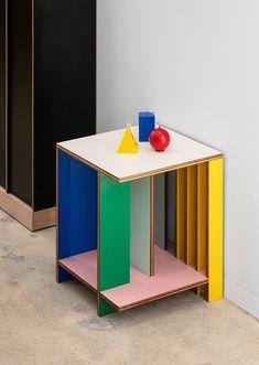 JEONSANSYSTEM Service Design, Stool, Objects, Shelves, Table, Furniture, Color, Home Decor, Shelving