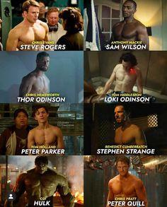 Marvel Man, Marvel Avengers Movies, Man Thing Marvel, Marvel Jokes, Marvel Funny, Tom Hiddleston Thor, Anthony Mackie, Peter Quill, Chris Pratt