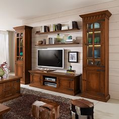 Living Room Decor On A Budget, Living Room Remodel, Living Room Colors, Home Living Room, Tv Wall Design, Game Room Design, Tv Unit Furniture Design, Home Entertainment, Building A House