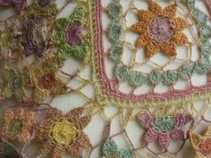 Lace crochet inspiration - Sophie Digard