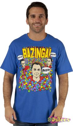 Big Bang Theory Sheldon Bazinga Ball Pit T-Shirt. We have tons of Big Bang Theory shirts, huge selection of TV shirts. Fast shipping, great pricing. Order now.