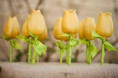 Tulip Cake Pops for Easter Treats