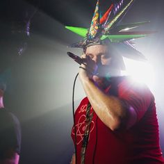 Something different: Rawrb of Psychostick performing at the Crauford Arms in Milton Keynes. . . . . . . #music #psychostick #livemusic #miltonkeynes #carufordarms #band #humorcore #heavymetal #metal #psycho #live #concert #concertphotography #hat