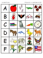 Letter Sound Cards - in Color - Pinned by @PediaStaff – Please Visit  ht.ly/63sNt for all our pediatric therapy pins