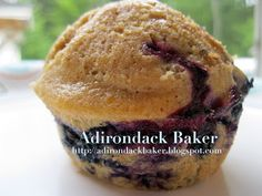 Blueberry Maple Muffin Recipe from Eating Well