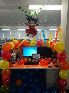 office birthday decorations. dragon ball z decoration goku office birthday decorations