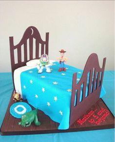Wonderfully original idea for a #Disney Toy Story cake via Springlakecake