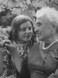 Actress Patty Duke with Helen Keller Playing as a Young Working Girl