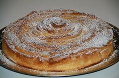Brioche tourbillon des rois ou Spirale briochée à la crème d'amande