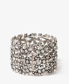 Etched Flower Bracelet - $8.80