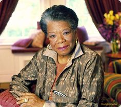 "Maya Angelou author of ""I Know Why The Caged Bird Sings"" a biographical account of a little girl who defied the odds to become one of the nation's greatest poets and inspirational thinkers of our time. ""Phenomenal woman"" is she ... and are we ..."