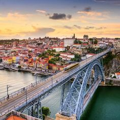 'Come to #Porto, get ready to fall in love and never leave.  #Plus351Portugal #Porto #Portugal #Mondaymotivation #View #Sunset #oporto #visitportugal #city #instadaily #instamoment #igersportugal #photooftheday #instamood #igersporto #likes #sunsets #mondaymotivation #events #eventplanner #eventprofs #instaweather #clouds' by @plus351portugal. What do you think about this one? @noiseboystech @newlevelcinema @tremaineranch @silentpartyusa @globeandmailcentre @spotlighteventshouston @djbranden…