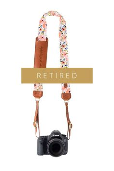 FOTO | Flora Fotostrap - Genuine Leather Camera Strap | FOTO Leather Camera Strap, The Ultimate Gift, Gifts For Photographers, Gift Guide, Flora, Best Gifts, Plants