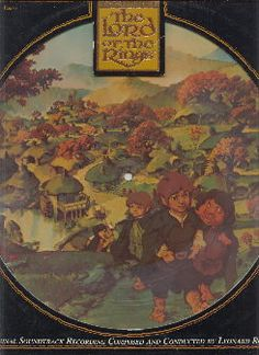 Lord of the Rings soundtrack vinyl 1978