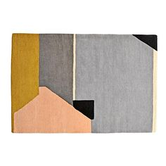 A blend of hues and geometric shapes come together to create our Graphics Rug. In fact, if it feels like you're walking on art, that's because you are. This rug is designed by Herron Clotheir based on an actual painting.<br /><br /><NEWTAG/><ul><li>Nod exclusive</li><li>A Herron design</li><li>All cut pile construction</li><li>Pile Height: 10-11mm cut pile</li><li>Swatches available</li></ul><h2>Show 'em what you're made of</h2><li>Pile 100% wool, Back 100% cotton</li></ul><h2>Extras…