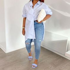 Cute Casual Outfits, Casual Chic, Stylish Outfits, Girl Outfits, Fashion Outfits, Womens Fashion, Looks Chic, Casual Looks, Black Girl Fashion