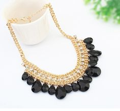 CHARMING DROPLET SHORT CHAIN FOR GIRLS