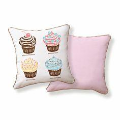 Cupcakes and pillows... yummy! #cupcake #desert #teen