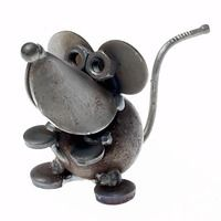 Church Mouse - Recycled Metal Sculpture