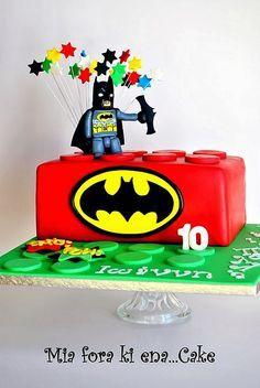 LEGO AND BATMAN CAKE | Flickr - Photo Sharing!