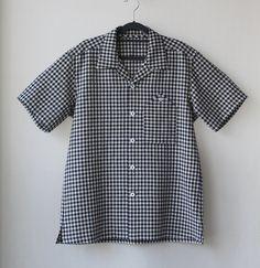 Open collar shirts for men Cotton Linen Spring Summer by Negitoros