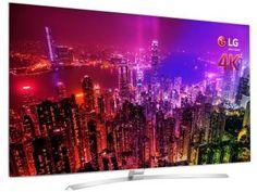 "Smart TV LED 65"" LG 4K Ultra HD 3D 65UH9500 - Conversor Digital 3 HDMI 3 USB Wi-Fi 2 Óculos"
