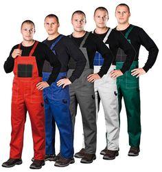 Ogrodniczki robocze MULTI MASTER, odzież robocza, odzież ochronna, rękawice robocze, Łódź