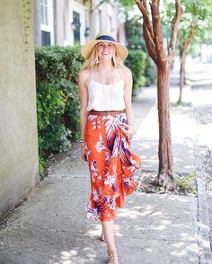 Paso Robles Silk Skirt #Anthropologie #MyAnthroPhoto