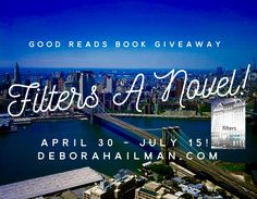 Don't miss a #CHANCE TO #WIN signed copy- #giveaway ends 7/15 join readers club today! http://deborahailman.com  #NYC
