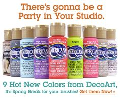 Decoart Acrylics - New colors