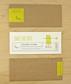 Kraft envelopes with minimal sticker!