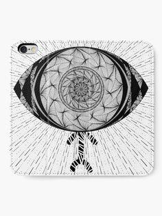 """The AyEye Mummy_Version01"" iPhone Wallet by Asmo Turunen. #design #iphonewallet #iphonecase #atcreativevisuals"