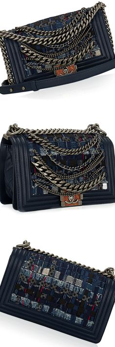 Chanel Limited Edition Dechained Boy Flap Bag luxury experience, limited edition, luxury For more limited editions, visit our blog http://designlimitededition.com/
