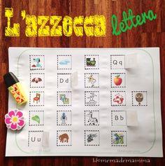 Imparare l'alfabeto puo' essere faticoso per un bambino piccolo: ricordare il nome di tutte quelle lettere puo' esseredavvero impegnativo. Prima diimparare i nomi quindi risulta piu' utileinsegn...