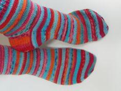 Lankaterapiaa: Karkkisukkien paluu - Fabel stripes