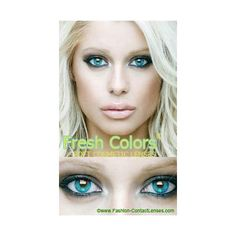 Dark Blue color contact lenses by Fresh colors change your eye color with ease these can be worn for 30 days ideal for fashion use all lenses ship world-wide within 48 hours - over 300 different lenses to choose from Green Contacts Lenses, Colored Contacts, Black Contact Lenses, Change Your Eye Color, Dark Blue Color, Light Blue, Halloween Contacts, Green Eyes, Hair And Nails