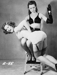 vintage spanking fetish photography