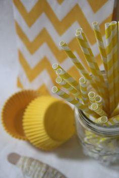 Bash in a Box  Lemon Drop Yellow Party Kit  by shoplemondrops, $8.50