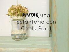 Pintar una estantería con chalk paint es así de fácil