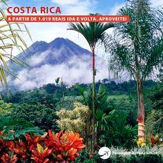 Passagem Aérea em promoção para Costa Rica a partir de R$1.019.  Saiba mais: https://www.passagemaerea.com.br/costa-rica-promocao.html
