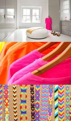 NEON colors - via @Renán Villarreal Serrano Trendt COUNCIL