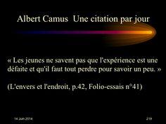 Albert Camus (1913-1960) n° 219