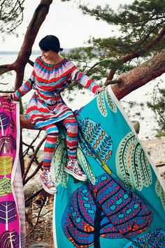 Marimekko textile designs http://cimmermann.co.uk/blog/scandinavian-style-uncovered/