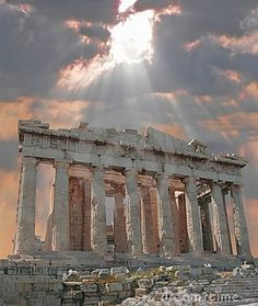 : Parthenon Athenas, Greece