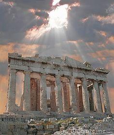 Encore! Life, vivirdormiramar: Parthenon Athenas, Greece  英語わかんないけど、これみたことある!