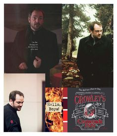 """""""Supernatural: Crowley"""" by stargirl234 ❤ liked on Polyvore featuring supernatural"""
