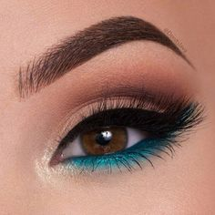 Gorgeous Makeup: Tips and Tricks With Eye Makeup and Eyeshadow – Makeup Design Ideas Makeup Eye Looks, Cute Makeup, Eyeshadow Looks, Pretty Makeup, Eyeshadow Makeup, Eyeshadow Palette, Eyeshadows, Gorgeous Makeup, Pop Of Color Eyeshadow