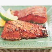 Grilled Glazed Salmon, Recipe from Cooking.com