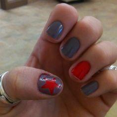 Star nails :)