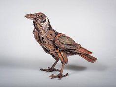 - steampunktendencies:     Blade Raven by Harriet...